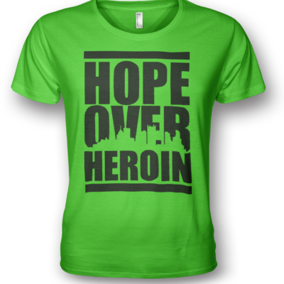 hope-over-heroin-tshirts-green