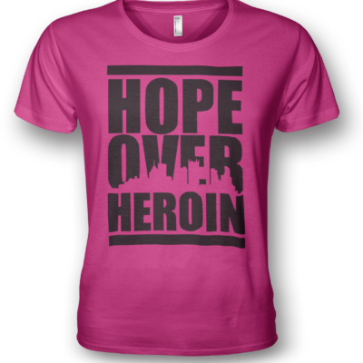 hope-over-heroin-tshirts-pink